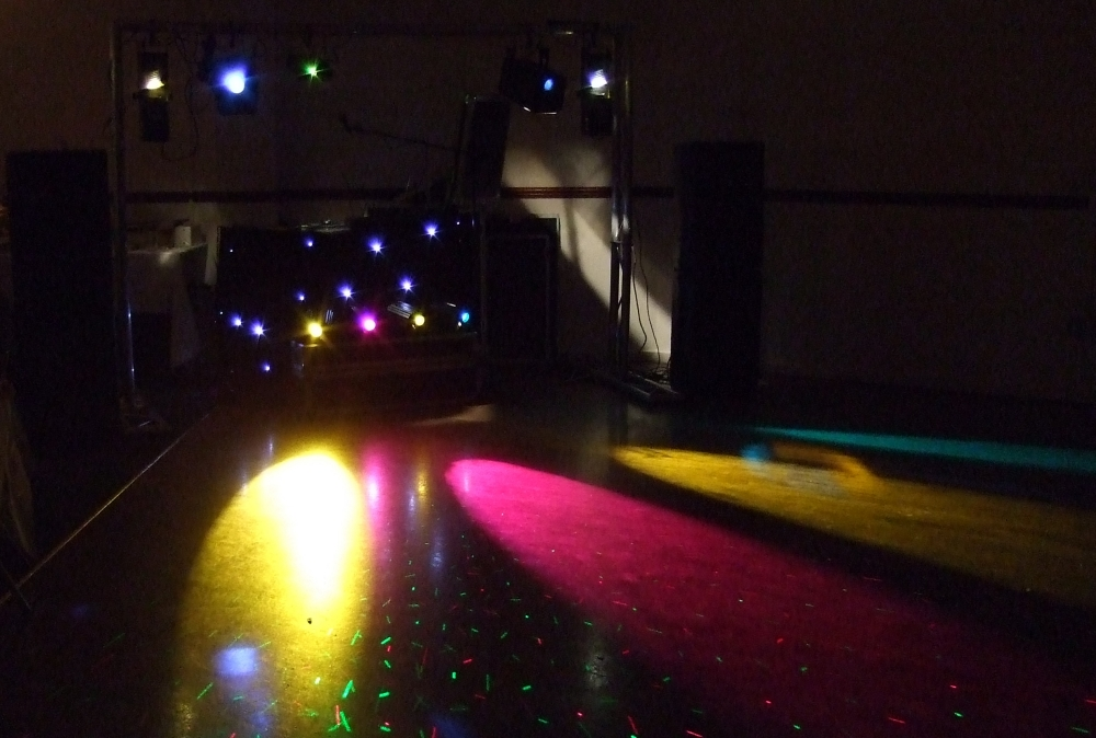 Mobile Disco at The Beaverwood Club Chislehurst Kent