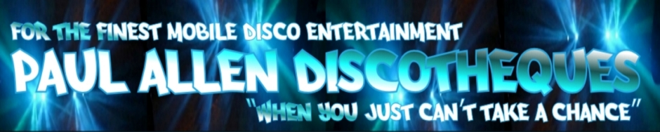Paul Allen Discos Dartford Mobile Disco Banner