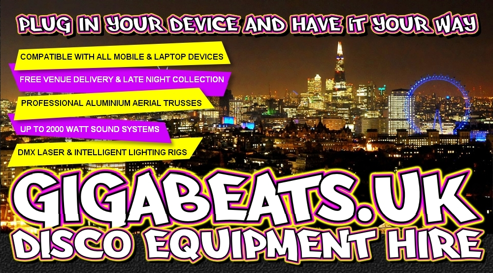 GigaBeats UK Disco Equipment Hire
